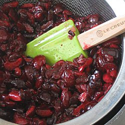 Macerating Cherries for Ice Cream / JillHough.com