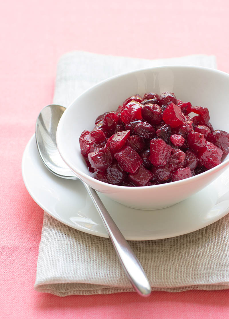Cranberry and Apple Sauce