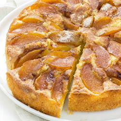 Eat cake, buttery, sweet, bright, thoroughly delicious plum cake
