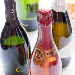 What pairs with sparkling wine?